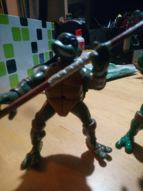 Tortugas Ninja Playmates 2003 TMNT figuras