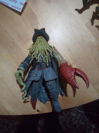 Davy Jones figura Piratas del Caribe 2007 Disney