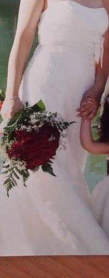 traje de novia, talla 38.