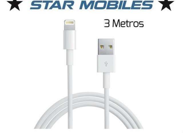 CABLE LIGHTNING IPHONE/IPAD USB 3M