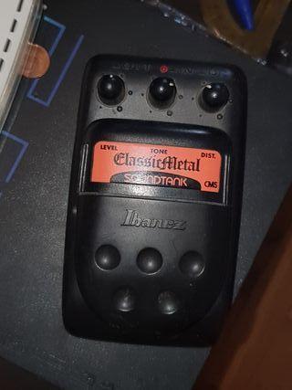 Pedal para guitarra electrica Ibañez