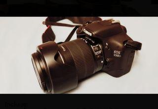 Equipo Canon EOS 550D