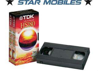 CINTA VHS VIRGEN TDK 180 MINUTOS