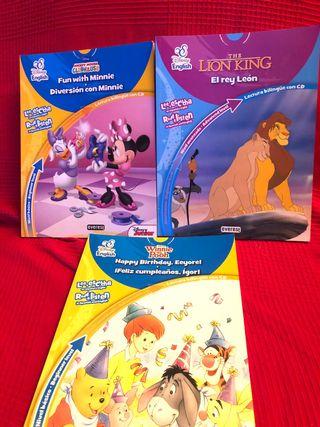 Pack 3 libros Disney English