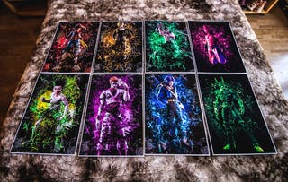 Jump Force Colleccion posters