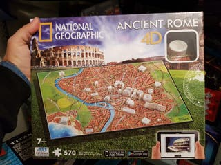 Puzzles 4D National Geographic.