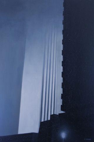Cuadro grande: Óleo y Acrilico/Tela. 174x116cms