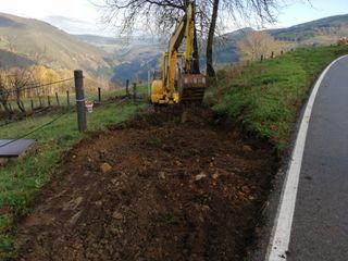 excavaciones por todo Asturias