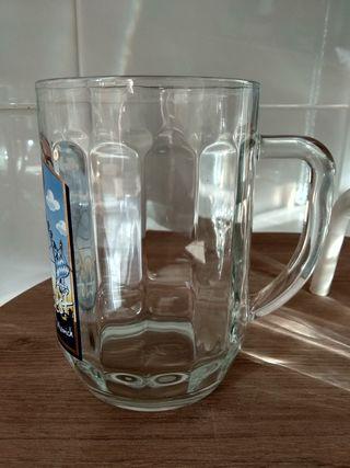 Juego 2 jarras cerveza 0,5l. OKTOBERFEST