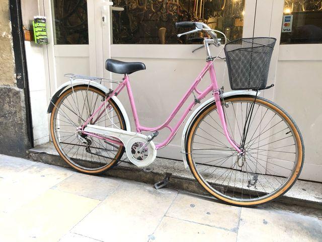 Bicicleta clásica paseo
