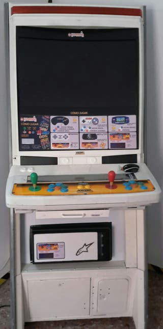 "Recreativa Sega Naomi Pantalla 32"" Full HD"