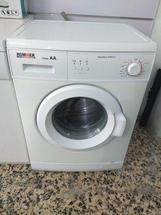 lavadora rommer 6 kg clase AA 1000 rpm