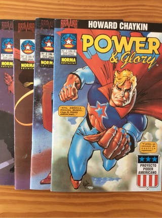 Comic POWER & GLORY de Howard Chaykin