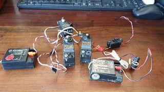 Futaba Lote servos y receptores RC Radiocontrol