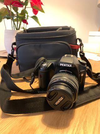 Cámara de fotos Pentax K200d