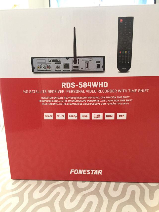 Fonestar RDS-584 WHD Receptor satélite HD