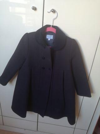abrigo niña clasico