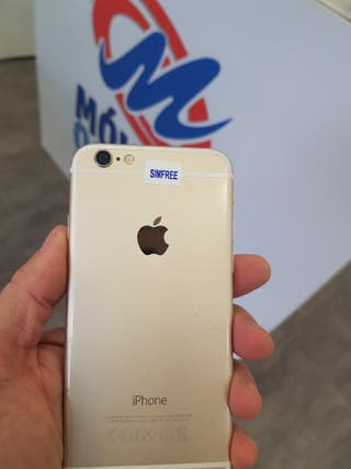 IPHONE 6 64 GB COLOR PLATA ORO GRIS