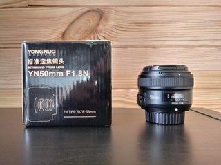 Objetivo Yongnuo 50mm para Nikon