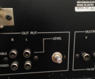 Sintonizador Alta Fidelidad Mitsubishi
