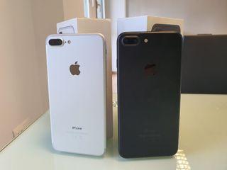 iphone 7 plus 32gb negro mate / plata