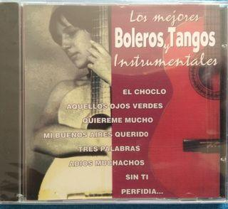 CD BOLEROS Y TANGOS INSTRUMENTALES