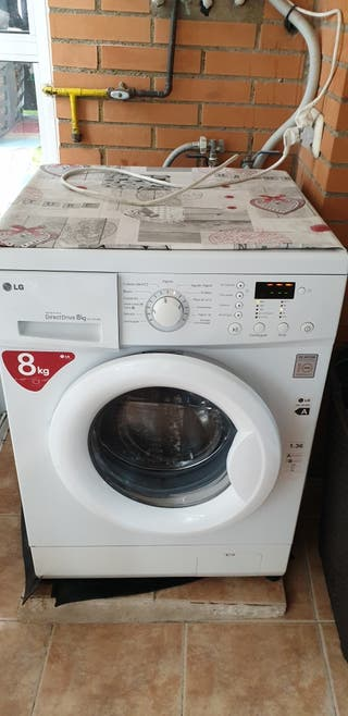 lavadora 8 kg