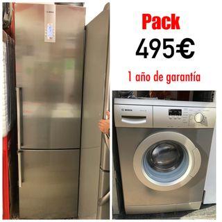 Nevera 2 mtr alto lavadora 7kg A +++ con garantía