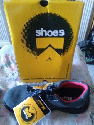 zapatos de seguridad n 41