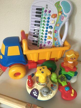 Lote juguetes niño/bebe