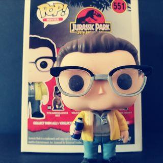 Dennis Nedry - Jurassic Park 551 Funko Pop