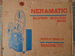 Proyector 8mm Neramatic Super Sound 600