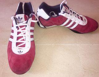 bueno tan barato mejores zapatos adidas goodyear rojas