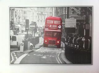 cuadro ikea autobus londres