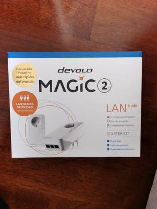 Repetidor PLC Devolo Magic 2 LAN triple