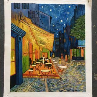 Caffe de noche de Van Gogh