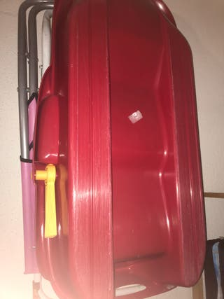 Trineo Rojo grande
