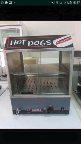 máquina de hot dog