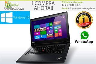 Portátil Lenovo L440, i5 / SSD / Cam / Win 10 Grat