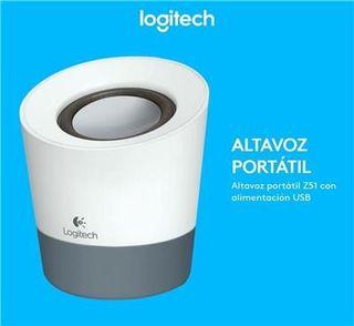 Altavoz portátil Logitech z51