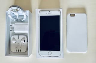 iPhone 6S, 16 GB, Silver (Plata) - Libre
