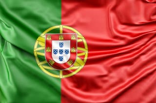 Bandera Portugal tela 150cm x 90cm