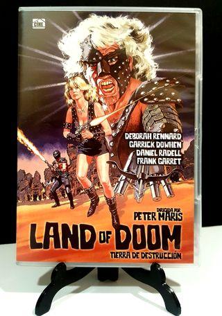 LAND OF DOOM TIERRA DE DESTRUCCIÓN DVD IMPOLUTO