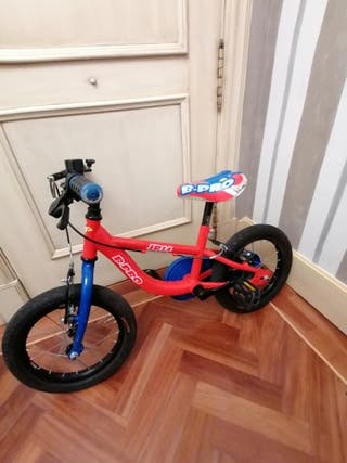 Bicicleta niño B-Pro Junior 14 pulgadas