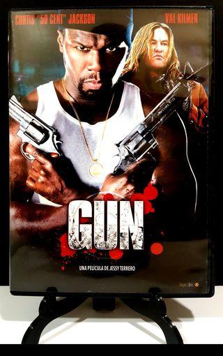 GUN VAL KILMER CURTIS 50CENT DVD