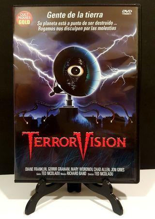 Terror visión dvd impoluto