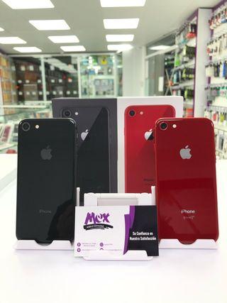 iPhone 8 64GB semi nuevo libre caja factura