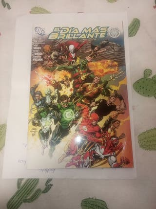 el día más brillante n1 DC comics