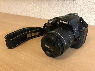NIKKON D5300 + OBJETIVO 18-55mm