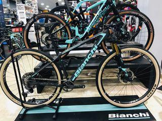 Bicicleta BTT Bianchi Methanol CV RS 9.2 talla M